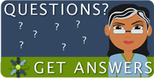 Questions? Get answers! Ask a librarian.